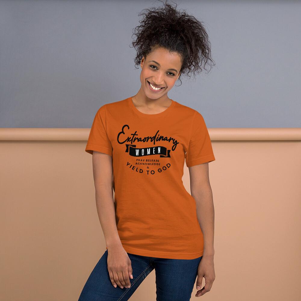 Extraordinary Women Short-Sleeve Unisex T-Shirt
