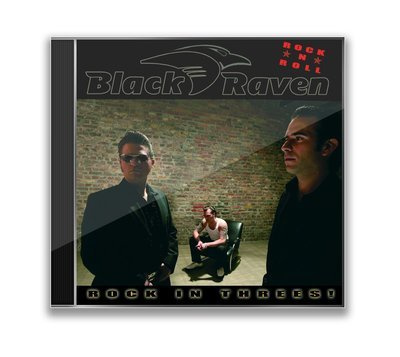 BLACK RAVEN - Rock In Threes - CD
