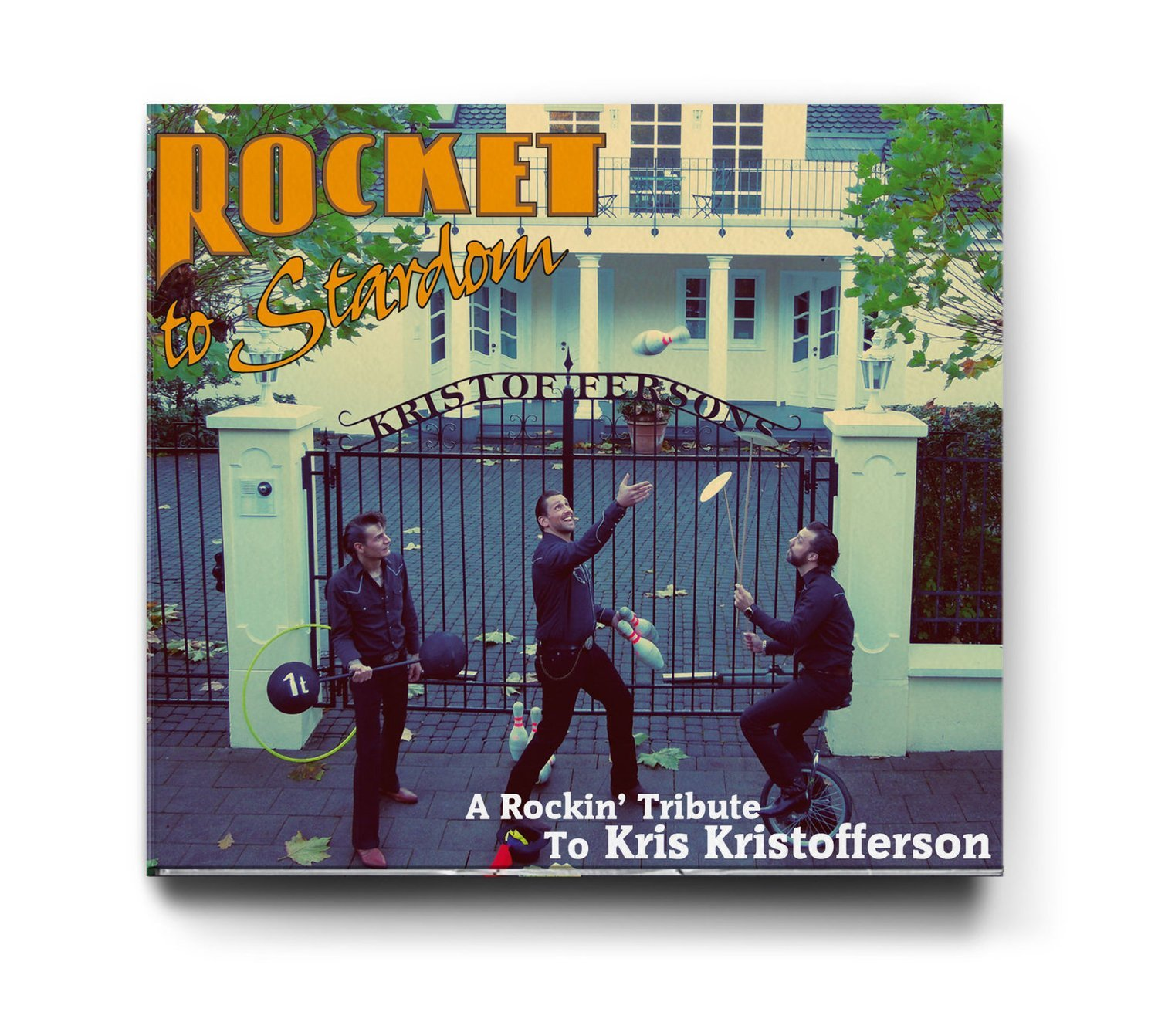 Rocket to Stardom - A Rockin' Tribute to Kris Kristofferson - CD
