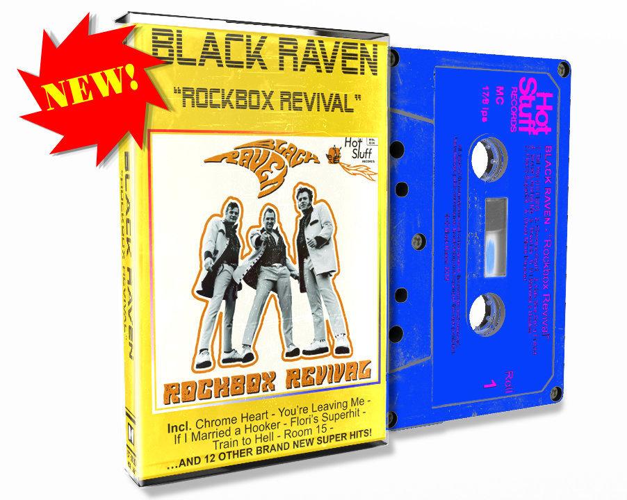 BLACK RAVEN - Rockbox Revival -  Audio-Cassette