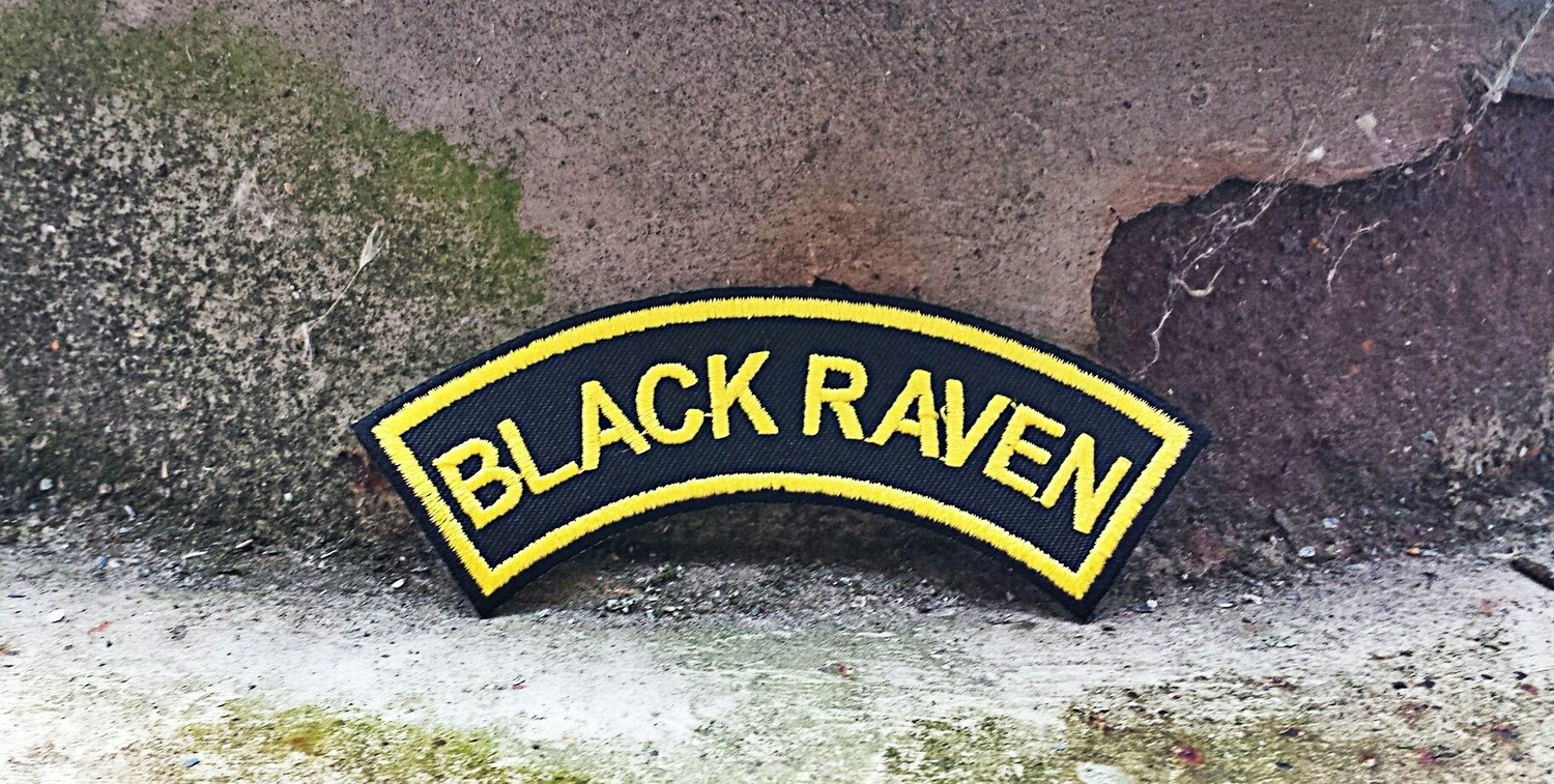Patch Black Raven