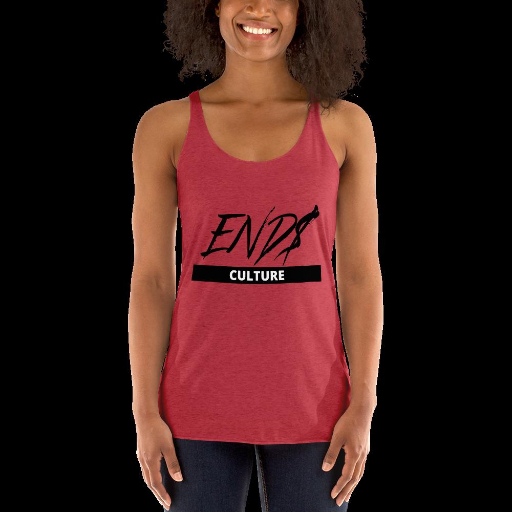 END$ Scripture Culture Women's Racerback Tank
