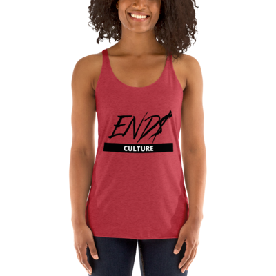 END$ Scripture Culture Women's Racerback Tank