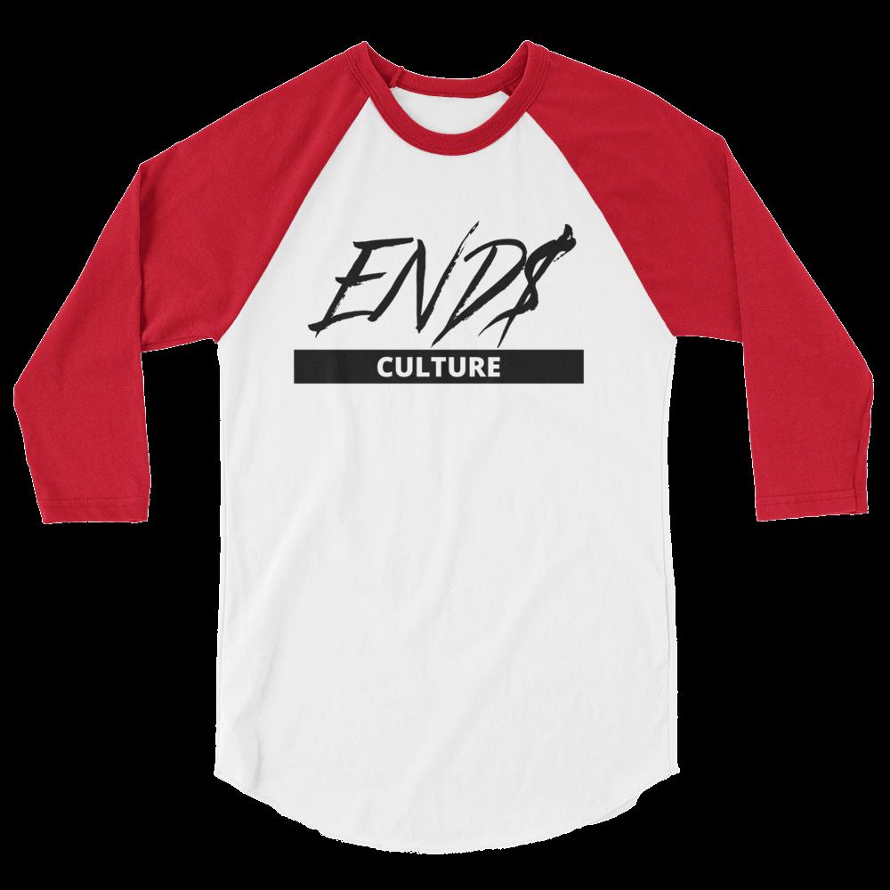 END$ Scripture Culture 3/4 sleeve raglan shirt