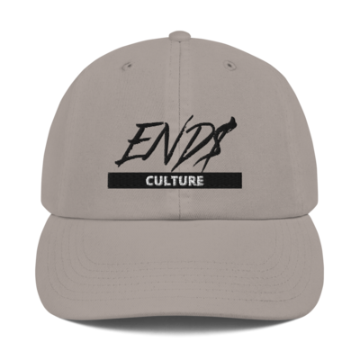 END$ Scripture Culture Champion Dad Cap
