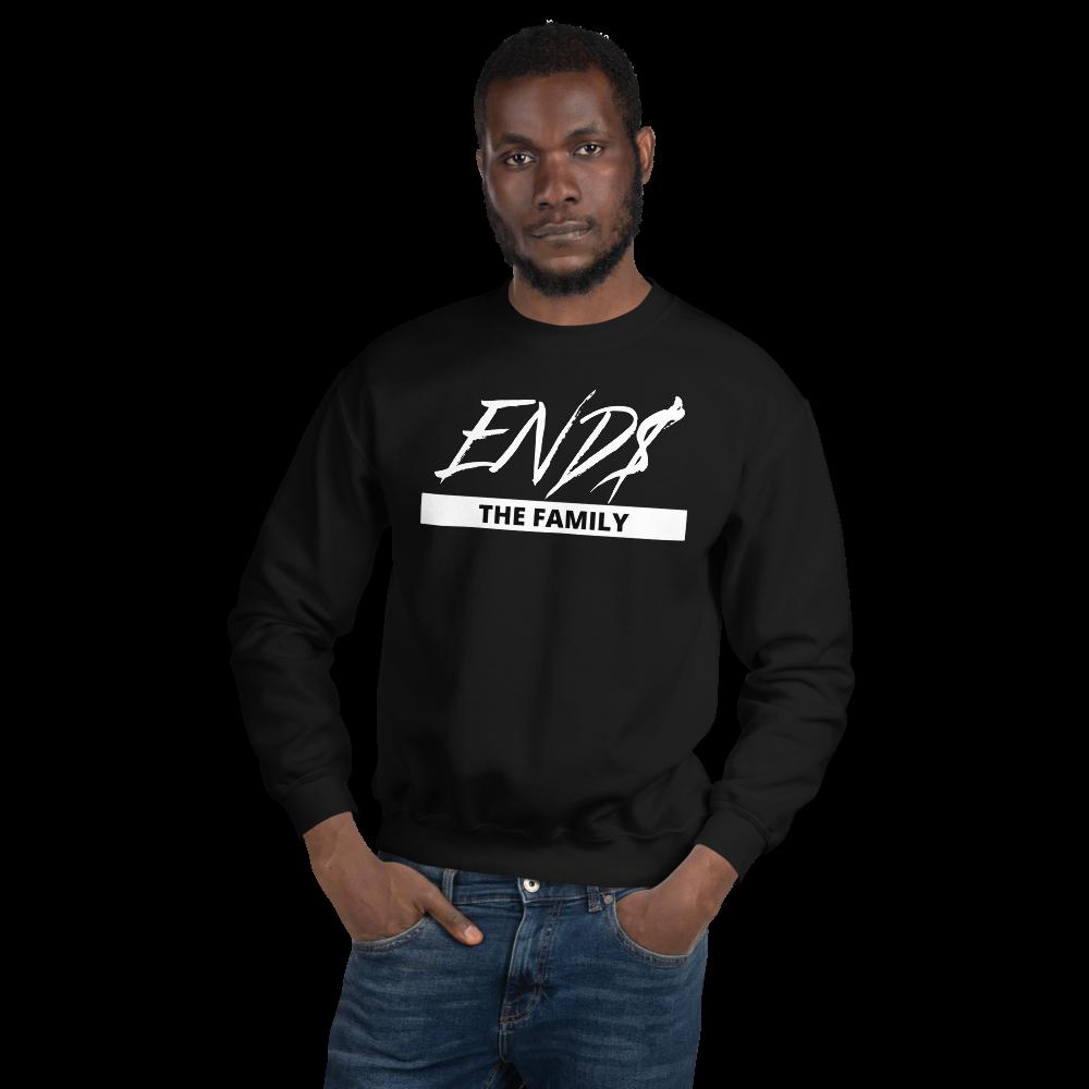 END$ Scripture The Family Unisex Sweatshirt