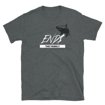 ENDS Script Shark The Family Short-Sleeve Unisex T-Shirt
