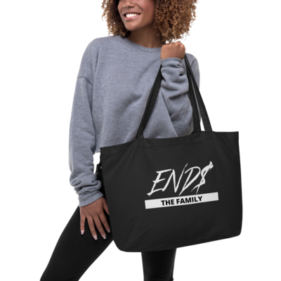 Large ENDS The Family Organic Tote Bag