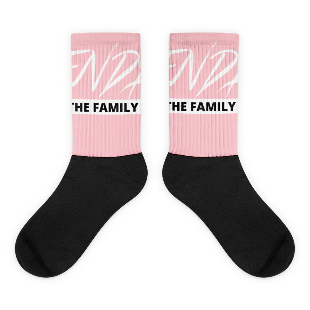 ENDS The Family Breast Cancer Awareness Socks