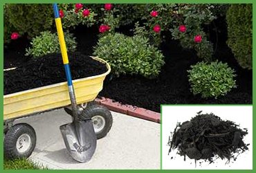 Black Forest Mulch (by Cubic Yard)