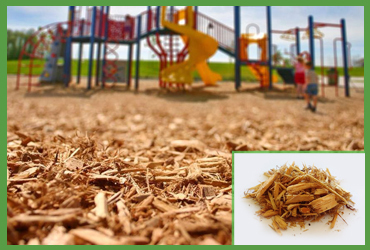 Playground Chips (by Cubic Yard)