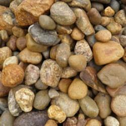 "1 1/2"" River Stone/Multi-Tan (by Cubic Yard)"