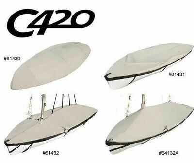 Laser Club 420 C-420 Custom Fit Boat Cover