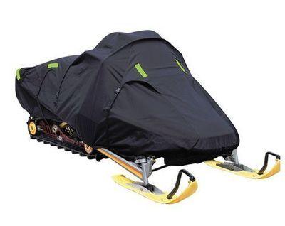 Deluxe Trailerable Snowmobile Covers 600 Denier - Black