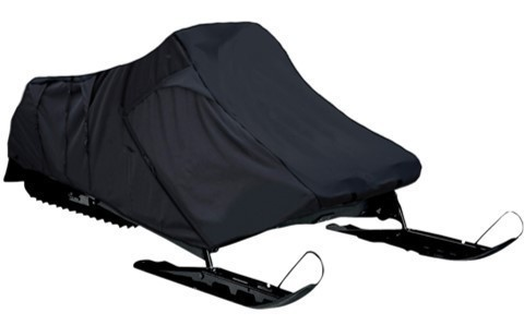 Travel and Storage Snowmobile Covers 300 Denier - Black