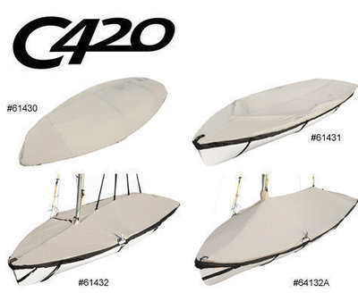 Laser Club 420 C-420 Custom Fit Boat Cover