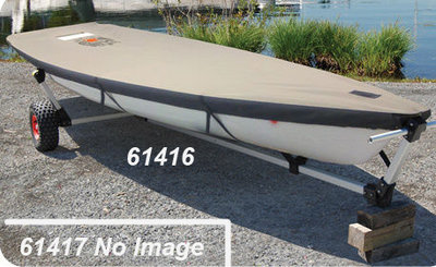 Laser Vanguard V-15 Custom Fit Boat Cover