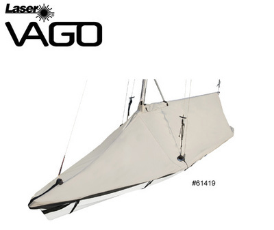 Laser Vago Deck Cover / Mast up/ Tented -Custom Fit Boat Cover
