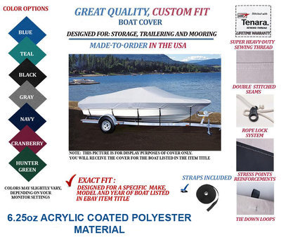 CAROLINA SKIFF-CUSTOM FIT BOAT COVER