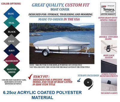 CREST-CUSTOM FIT BOAT COVER