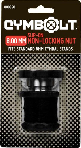 CYMBOLT® Original Slip-on 8MM Bolt.      (Cymbolt or Large carrying case suggested.)