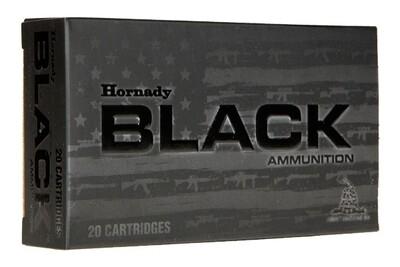 110GN Hornady Black .300 AAC Blackout - 20rds/box