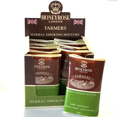 Honeyrose FARMER'S RYO Mixture, Carton (10 pouches/30 Grams)