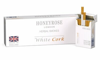 Honeyrose WHITE CORK, Carton of 10 Packs