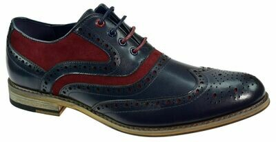 Ethan Navy/ Red Shoe
