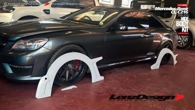 Mercedes-Benz CL 63 AMG C216 Lenzdesign Bodykit - Fender Flares