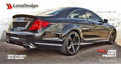 Mercedes-Benz CL C216 Lenzdesign Bodykit Rear Spoiler