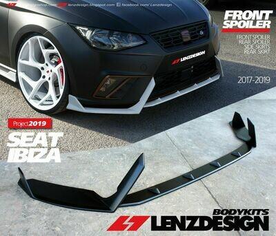 Seat Ibiza 6F 2017-2020 Front Spoiler & Rear Skirts Lenzdesign