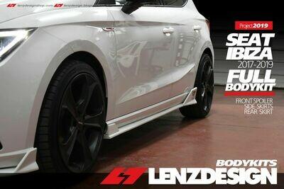 Seat Ibiza 6F Side Skirts Lenzdesign 2017-2020