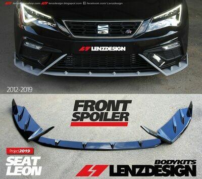 SEAT LEON MK3 5F 2012-2019 - Front Spoiler