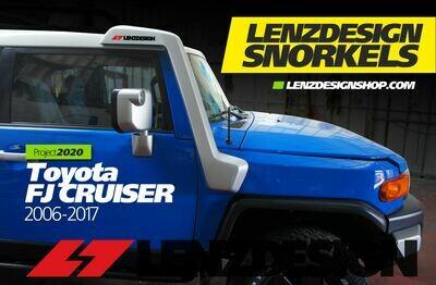 Toyota FJ Cruiser 2006-2017 Lenzdesign Snorkel Kit - for supercharged and regular engine