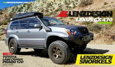 Lexus GX 470 - Toyota Land Cruiser Prado 120 Lenzdesign Snorkels