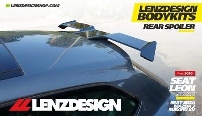 SEAT LEON MK3 5F Lenzdesign Bodykit - REAR SPOILER 2012-2019