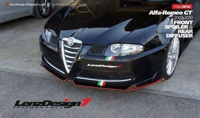 Alfa Romeo GT 2003-2010 Front Spoiler