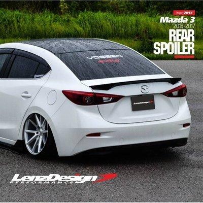 Mazda 3 BM/BN Rear Spoiler Lenzdesign 2013-2019