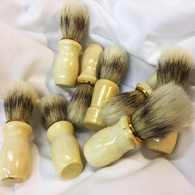 REAL BOAR HAIR SHAVING BRUSH