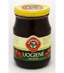 Lingonberry Preserve 420gr Kedainiu