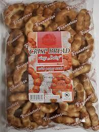 Crisp Bread w/poppy seeds 400 gr Franzeluta