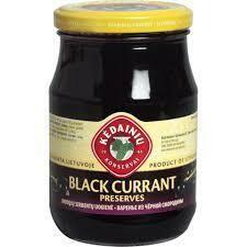 Blackcurrant Preserves 420 gr Kedainiu