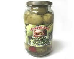 Pickled Green Tomatoes 900gr Zakuson