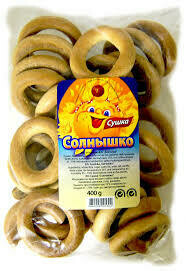 Crisp Bread Solnyshko Franzeluta