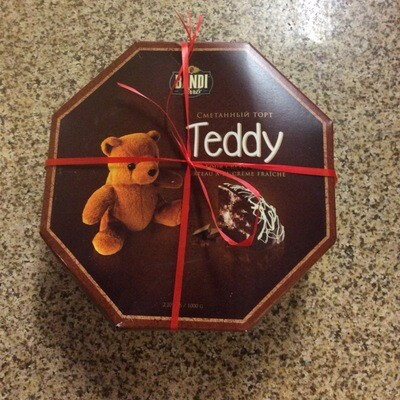 Teddy Sour Cream Cake Bandi