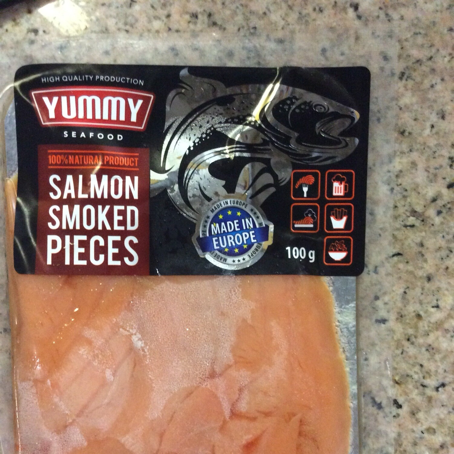 Salmon Smoked Pieces Yummy