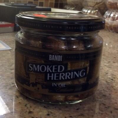 Smoked Herring In Glass