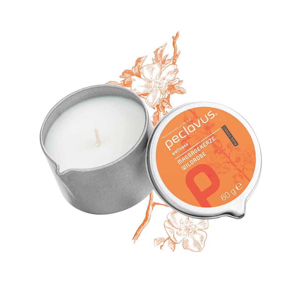 "Massage candle ""wild rose"" / Массажная свеча «дикая роза»"