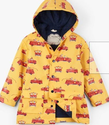 Hatley Boys Fire Truck Raincoat
